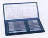 """Набор образцов шероховатости поверх-ти из 30-ти шт,  Ra 0.05-12.5мкм """"CNIC"""" (YK-3)"""