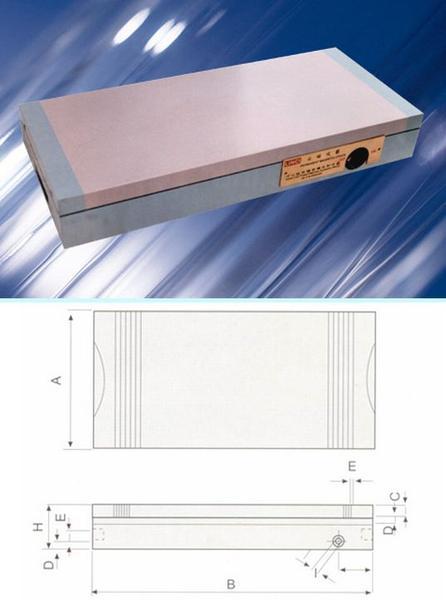 Плита магнитная плоская Х91 300х 680 (электромагнитная) сила притяжения 160 N/см кв. (
