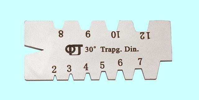 Шаблон для заточки резьбовых резцов - dbc3