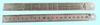 """Линейка Металлическая  150х18х0.7 мм с двухсторонней шкалой """"CNIC"""" (YX01-015AT)"""