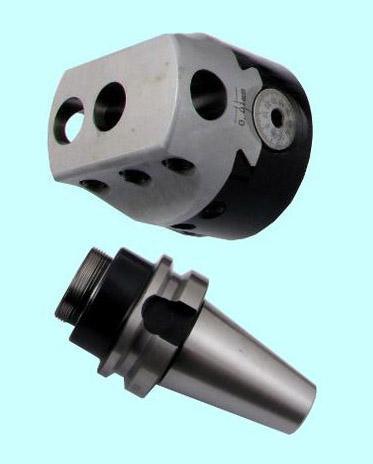Головка расточная d 75мм, D расточки 12-120мм, хв-к R8 с к-том резцов Т15К6 из12шт. (